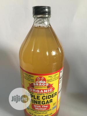 Bragg Organic :Apple Cider Vinegar(With The Mother) 946ml | Meals & Drinks for sale in Lagos State, Lekki