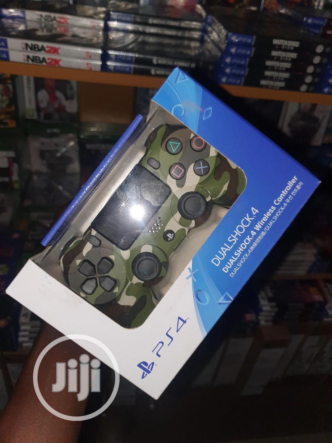 Genuine Ps4 Dual Shock 4 Controller | Video Game Consoles for sale in Ikeja, Lagos State, Nigeria