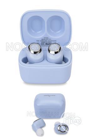 Zealot T1 Bluetooth Wireless Earbuds Blue. Zealot Earbuds   Headphones for sale in Lagos State, Ikeja