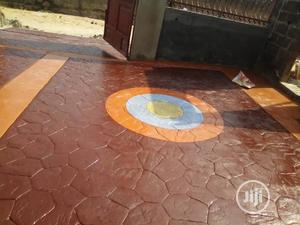 Stamped Concrete Floor   Building & Trades Services for sale in Lagos State, Ikorodu