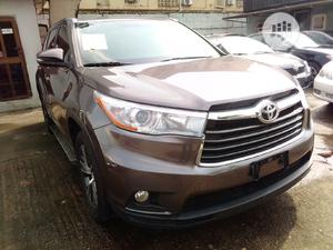 Toyota Highlander 2017 Brown | Cars for sale in Lagos State, Isolo