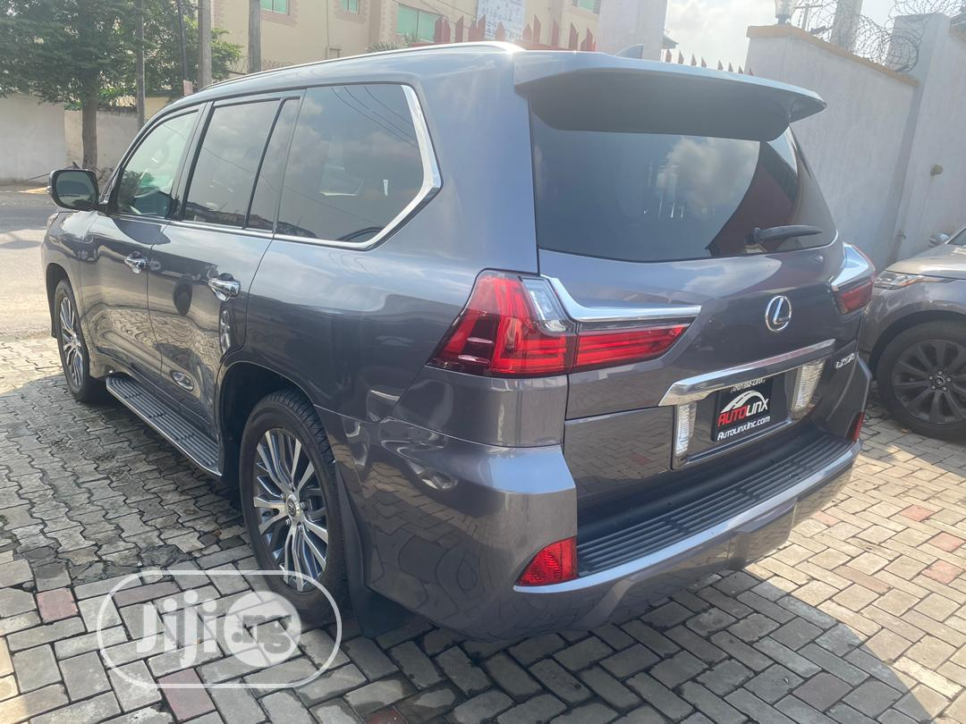 Lexus LX 2016 570 Base Gray | Cars for sale in Magodo, Lagos State, Nigeria