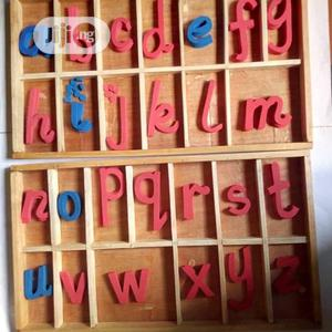Montessori Movable Letters   Stationery for sale in Lagos State, Gbagada
