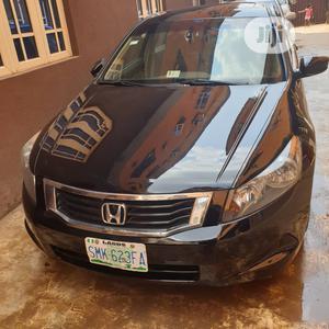 Honda Accord 2008 2.0i-VTEC Executive Black   Cars for sale in Lagos State, Alimosho