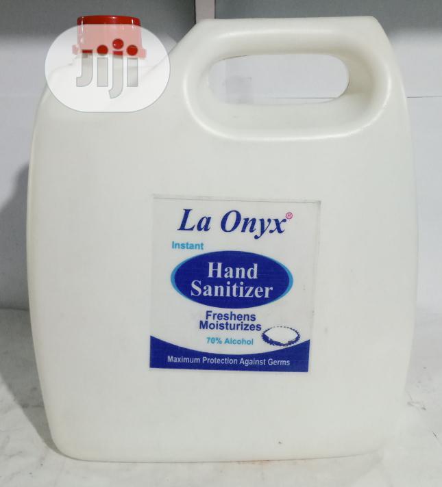 La Onyx Instant Hand Sanitizer - 4ltrs