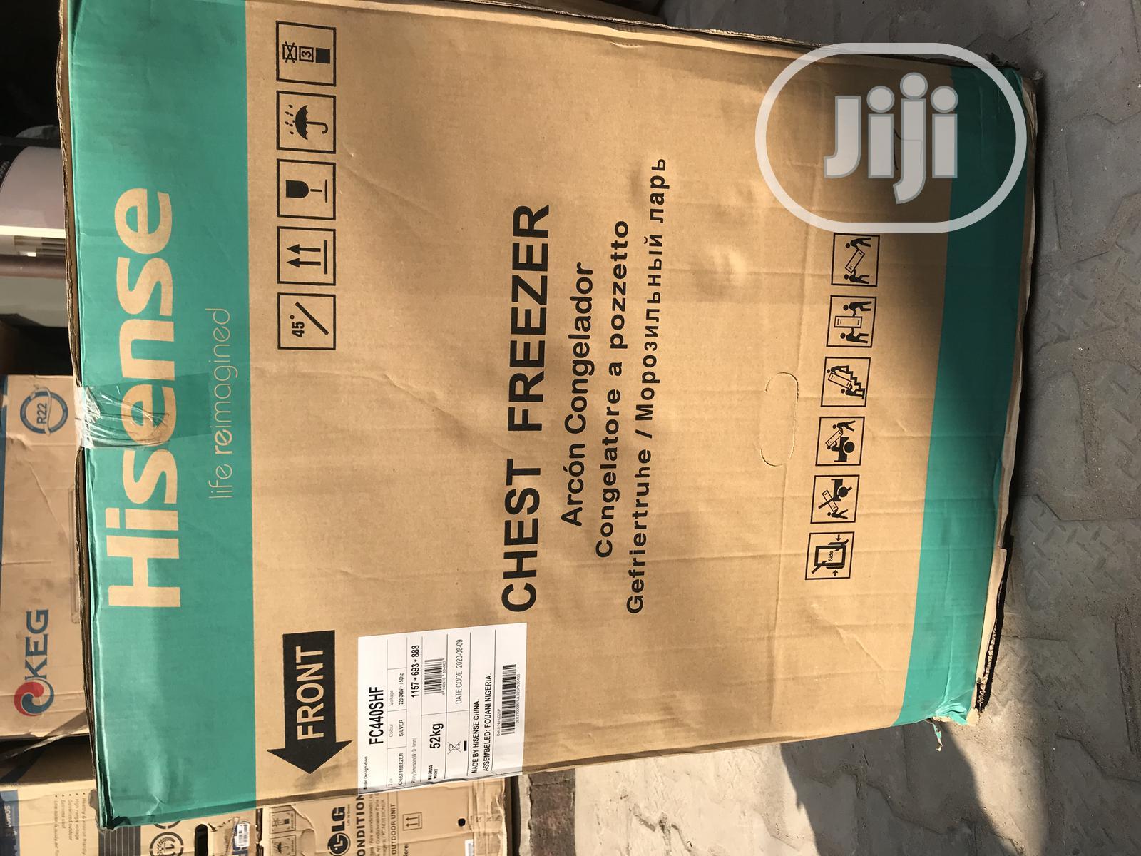 Hisense Chest Freezer 440 310 Liters | Kitchen Appliances for sale in Ajah, Lagos State, Nigeria