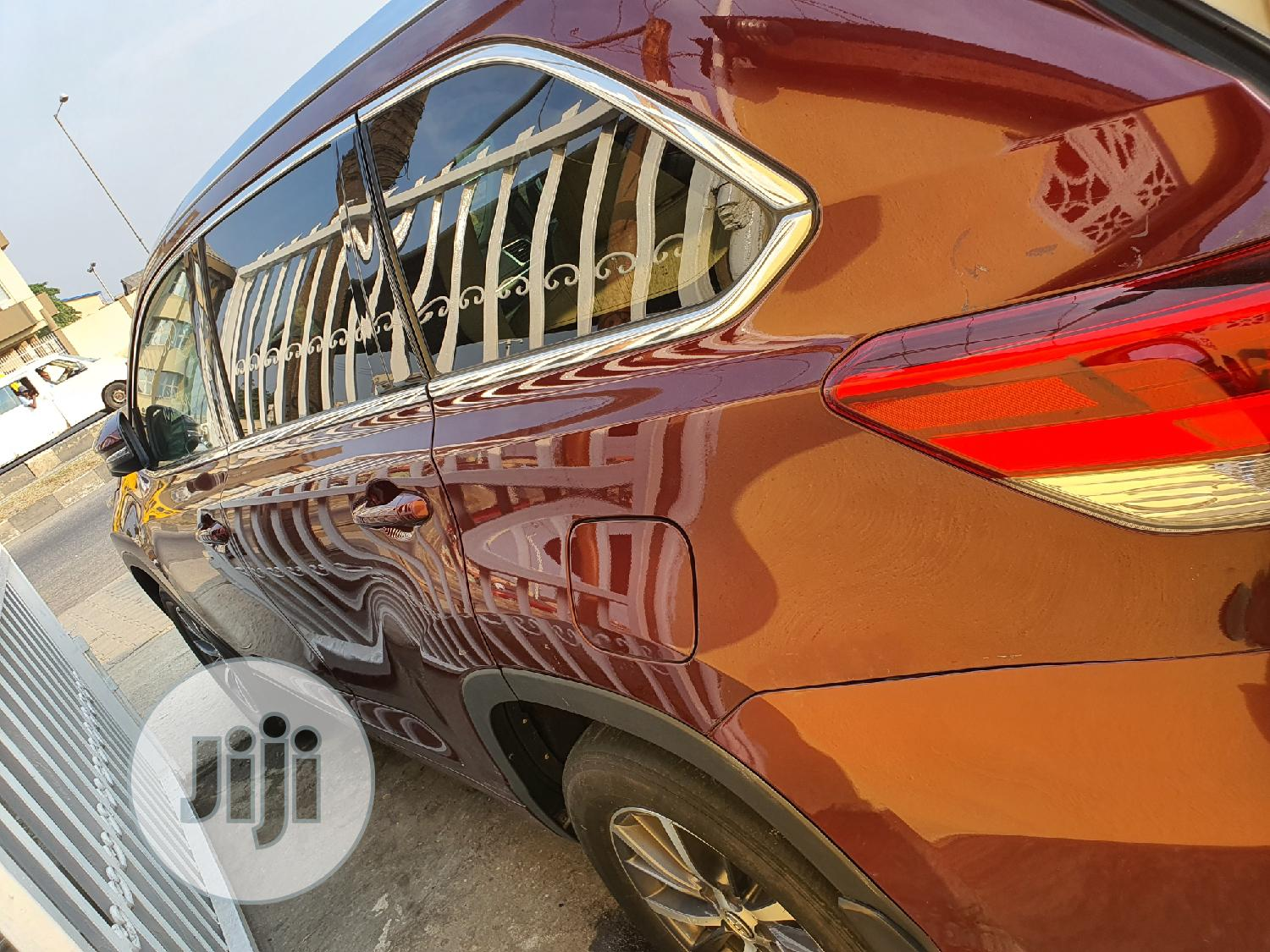 Toyota Highlander 2015 Red | Cars for sale in Surulere, Lagos State, Nigeria