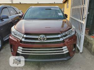 Toyota Highlander 2015 Red | Cars for sale in Lagos State, Surulere