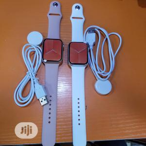 New Series 6 Smart Watch With Wireless Charger (Fk98)   Smart Watches & Trackers for sale in Lagos State, Ikeja