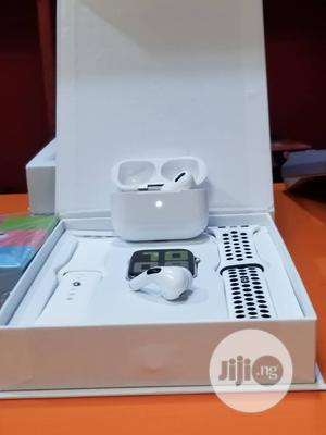T55 Series 5 Smart Watch + Airpods Pro   Smart Watches & Trackers for sale in Lagos State, Ikeja