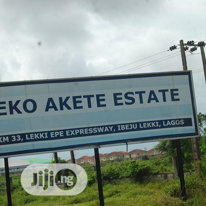 Archive: 2 Plots of Dry Land Opposite Eko-Akete Close to the Express