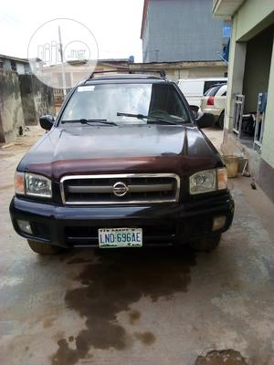 Nissan Pathfinder 2003 LE RWD SUV (3.5L 6cyl 4A) Black | Cars for sale in Lagos State, Alimosho