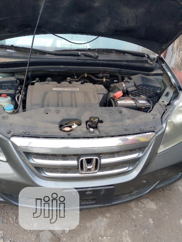 Archive: Honda Odyssey 2007 EX Gray