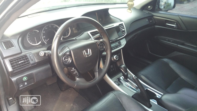 Honda Accord 2015 Black   Cars for sale in Ikeja, Lagos State, Nigeria