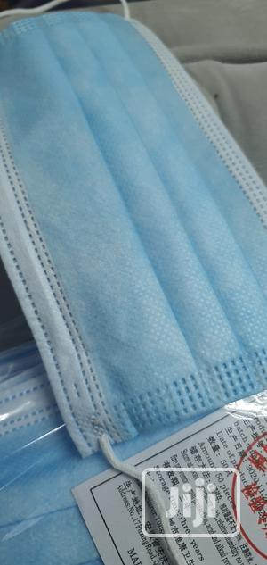 3 Ply Blue Mask | Medical Supplies & Equipment for sale in Lagos State, Magodo