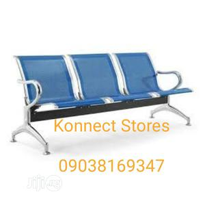Brand New 3 Seater Airport Chair   Furniture for sale in Ogun State, Abeokuta South