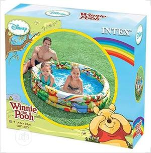 Intex Disney Winnie The Pooh 1.47m Inflatable Swimming Pool   Sports Equipment for sale in Lagos State, Isolo