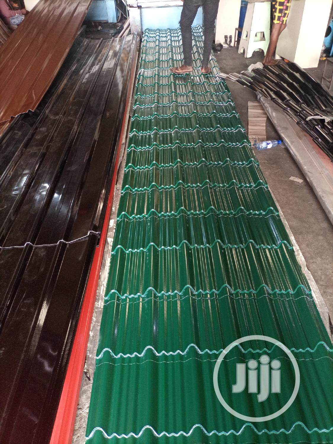 Latest Quality Step Tiles Roofing Sheet