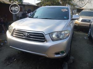 Toyota Highlander 2008 Limited 4x4 Silver   Cars for sale in Lagos State, Apapa