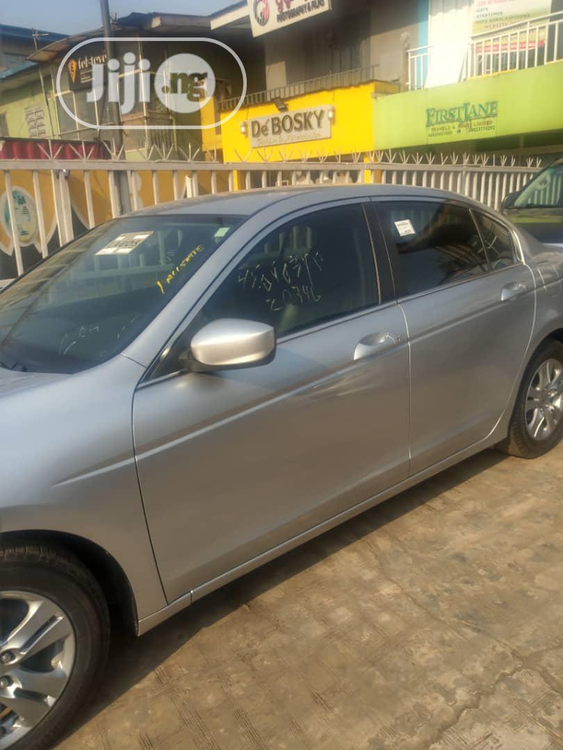 Honda Accord 2012 Sedan EX-L Silver | Cars for sale in Alimosho, Lagos State, Nigeria