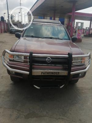 Nissan Pathfinder 2003 LE AWD SUV (3.5L 6cyl 4A) Red | Cars for sale in Lagos State, Ojo