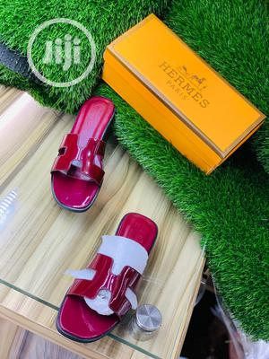 Hermes Ladies Palm Slippers | Shoes for sale in Lagos State, Mushin
