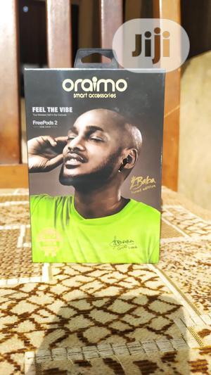 Oraimo Airpod Earpod Freepods 2 2baba Edition | Headphones for sale in Lagos State, Ikeja