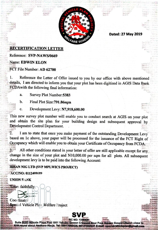 Asokoro Estate Plot Behind Abacha Barracks