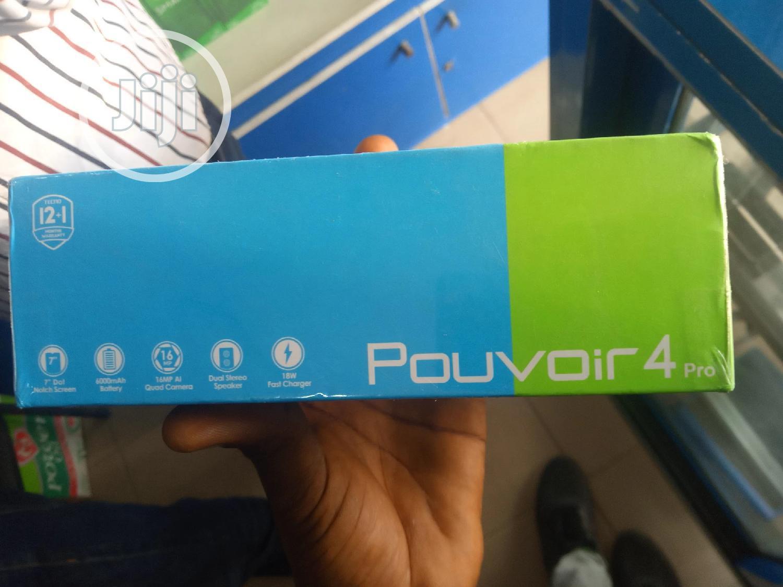 New Tecno Pouvoir 4 Pro 128 GB Black   Mobile Phones for sale in Ikeja, Lagos State, Nigeria