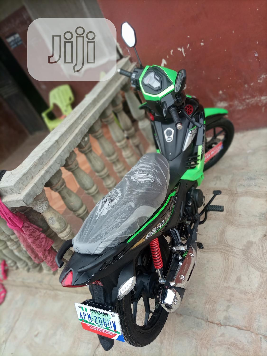 Motorcycle 2020 Green