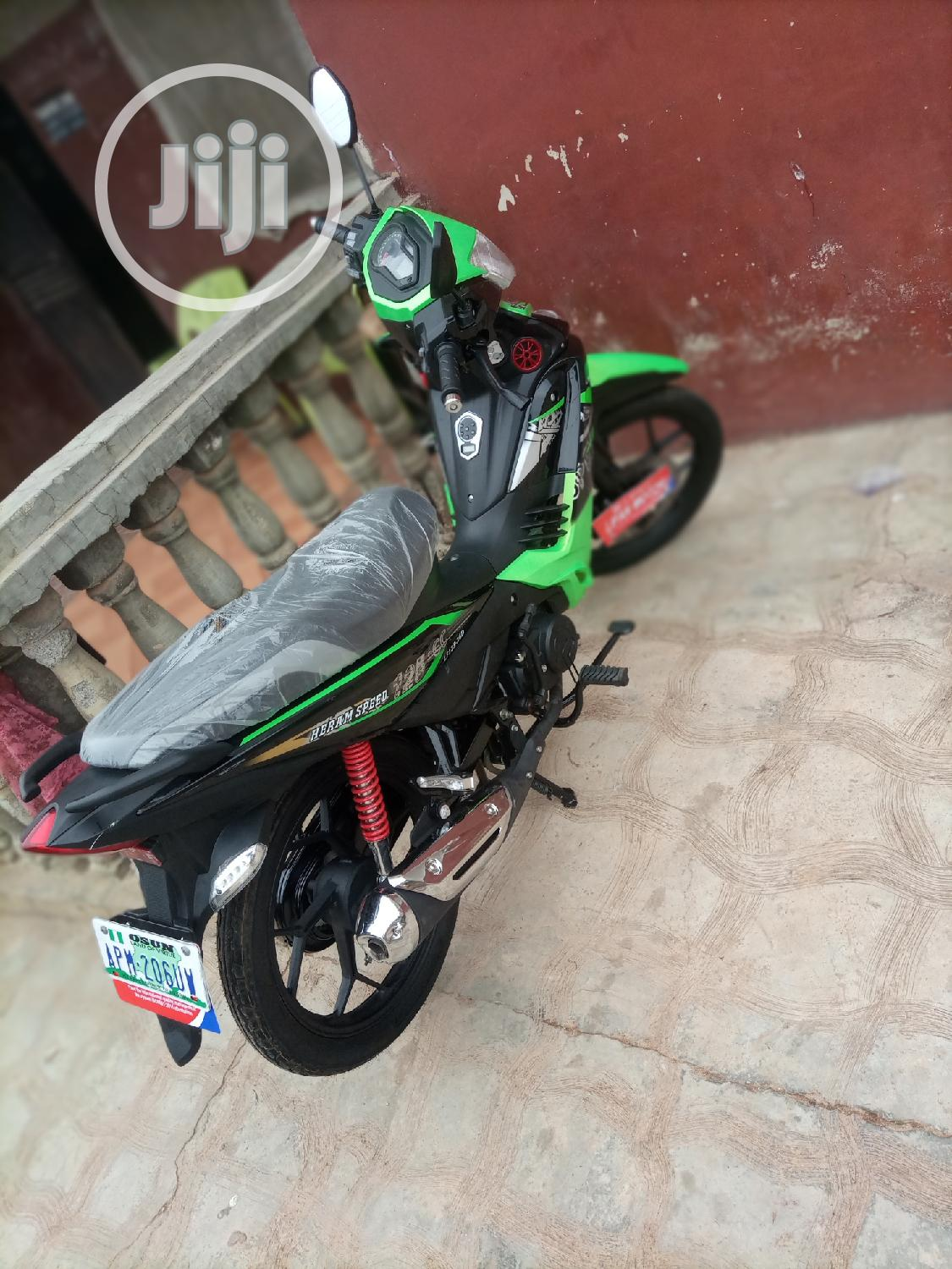 Motorcycle 2020 Green   Motorcycles & Scooters for sale in Ibadan, Oyo State, Nigeria