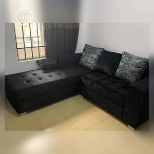 New Set of L-Shaped Fabric Sofa Absolutely Stunning | Furniture for sale in Lagos State, Ifako-Ijaiye