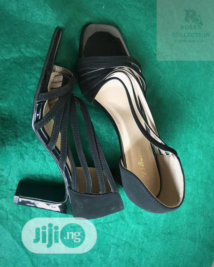 Archive: Black Sandal Shoe