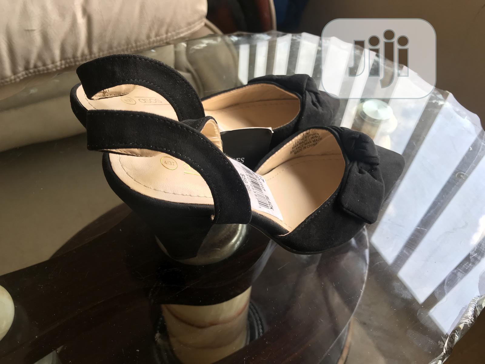 Archive: Asos Black Sandal Heels Shoe