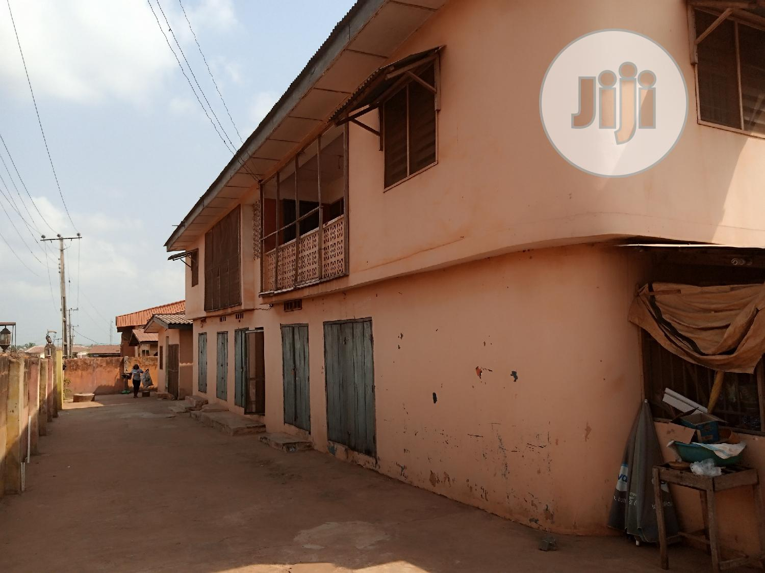 Archive: A Storey Building With A Bungalow Of 3 Bedroom Flat