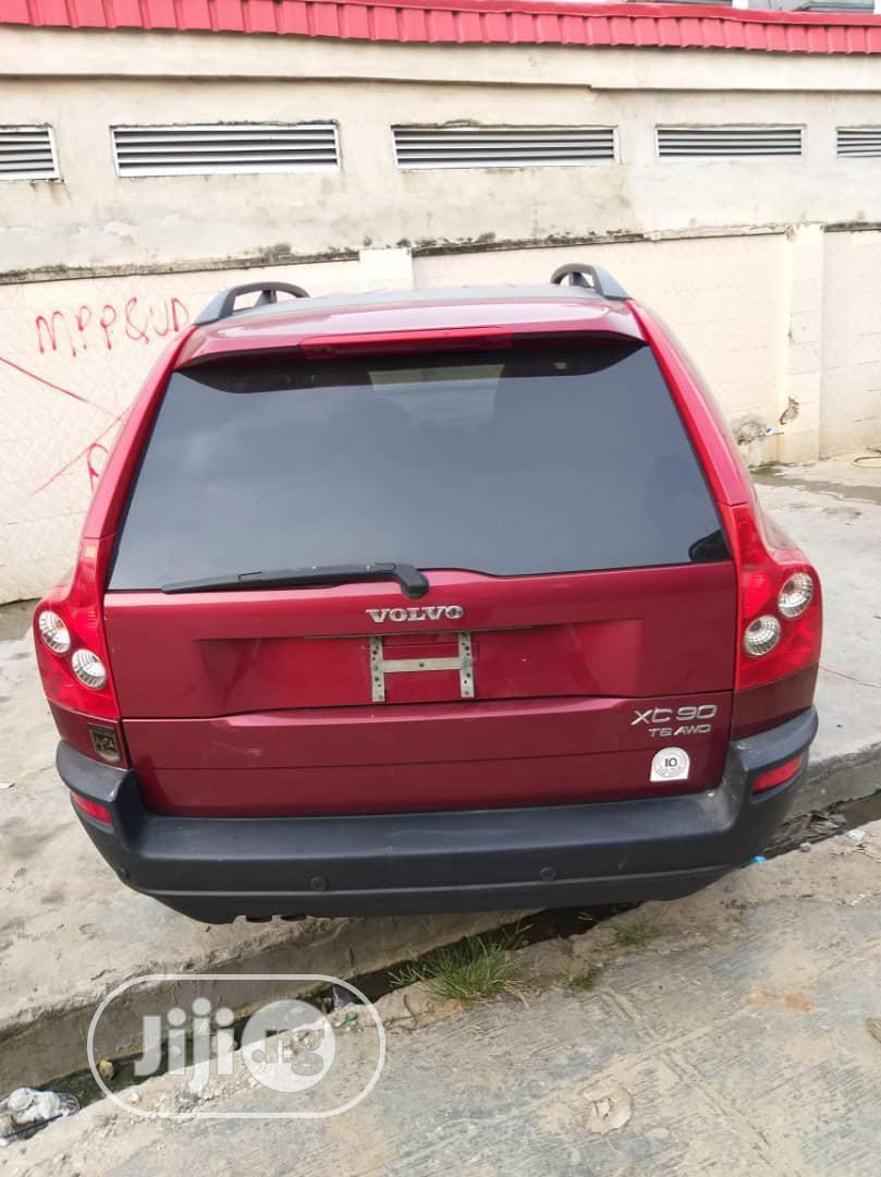 Volvo XC90 2006 Red | Cars for sale in Amuwo-Odofin, Lagos State, Nigeria