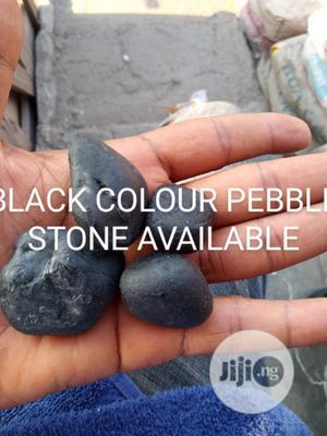 Pebble Stone Black   Building & Trades Services for sale in Lagos State, Amuwo-Odofin