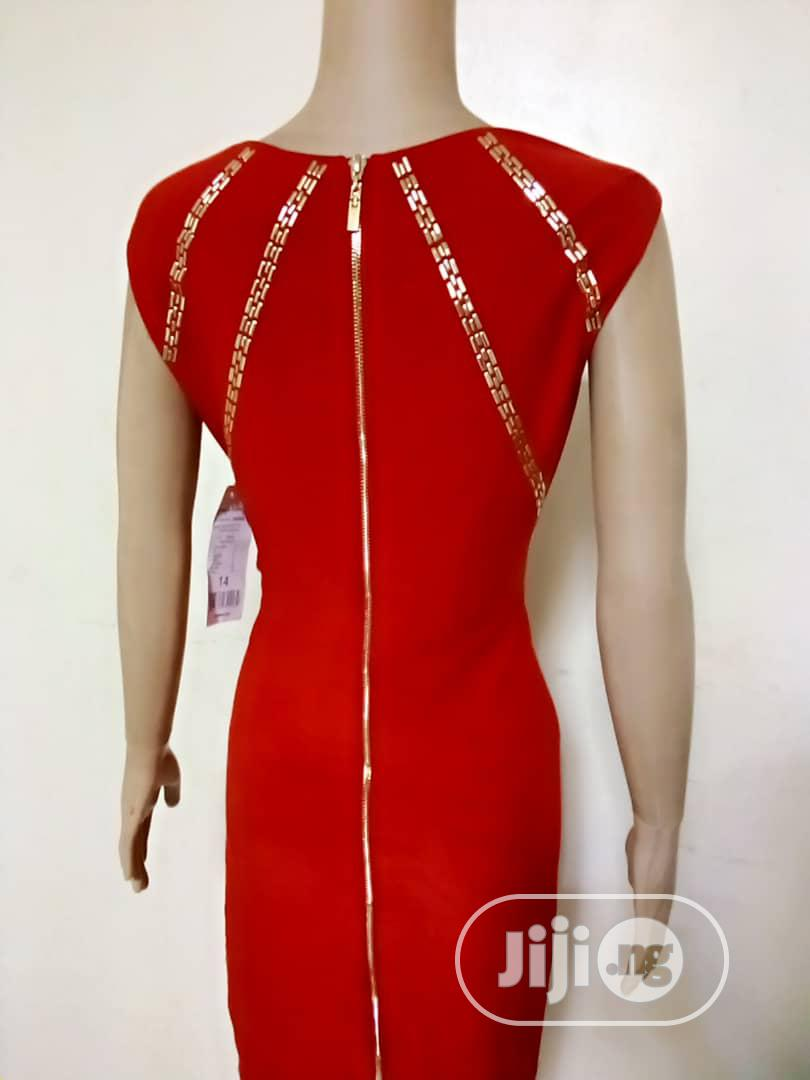 Red and Gold Dress | Clothing for sale in Ipaja, Lagos State, Nigeria
