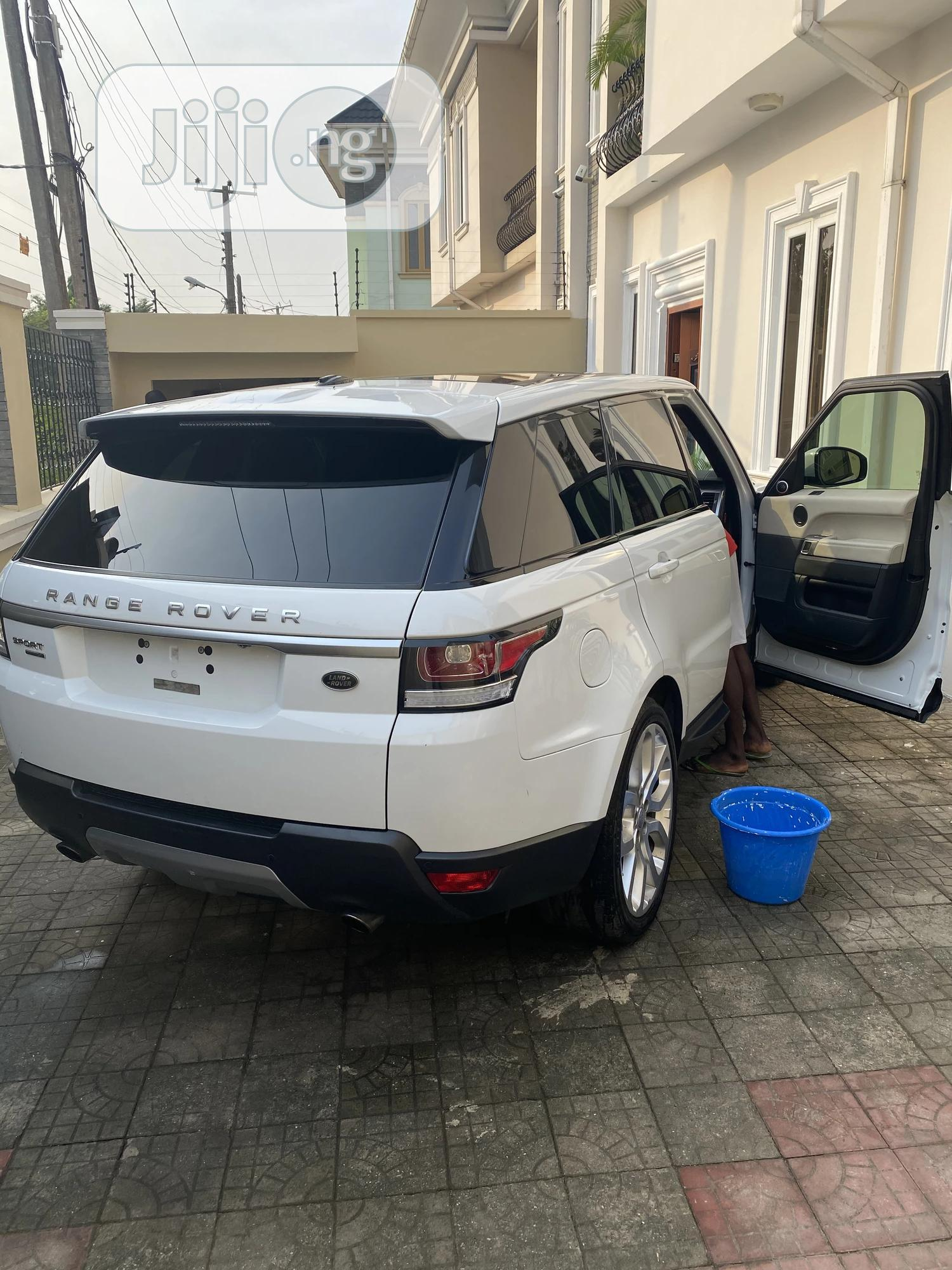 Land Rover Range Rover Sport 2014 HSE 4x4 (3.0L 6cyl 8A) White | Cars for sale in Ikeja, Lagos State, Nigeria