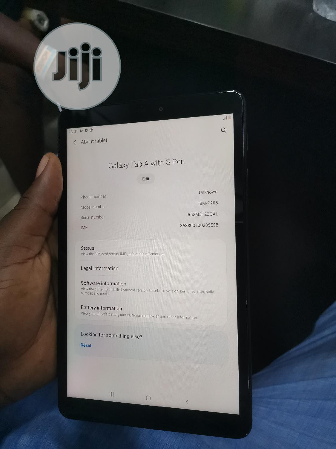 Samsung Galaxy Tab a 8.0 S Pen (2019) 32 GB Black | Tablets for sale in Ikeja, Lagos State, Nigeria