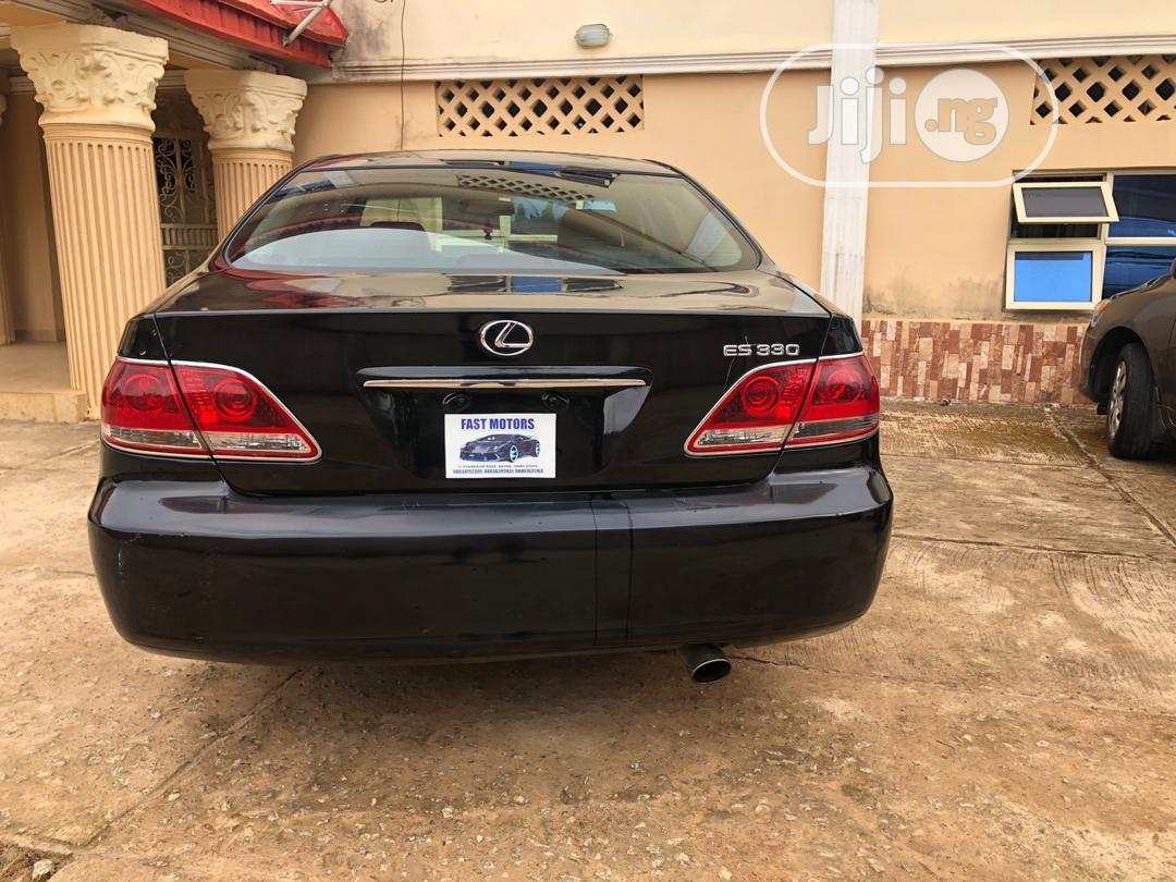 Lexus ES 2004 330 Sedan Black | Cars for sale in Akure, Ondo State, Nigeria