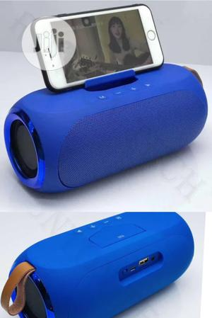Lp V6 Wireless Bluetooth Super Bass Speaker Blue Phone Stand   Audio & Music Equipment for sale in Lagos State, Ikeja
