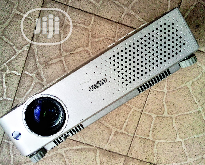 Cute Sanyo Projector