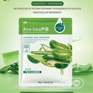 Aloe Vera Moisturing Facial Mask | Skin Care for sale in Lagos State, Surulere