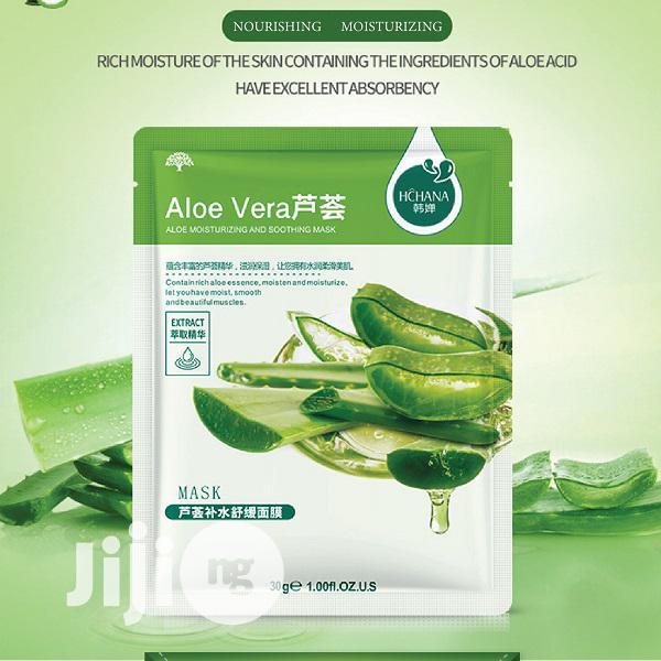 Aloe Vera Moisturing Facial Mask