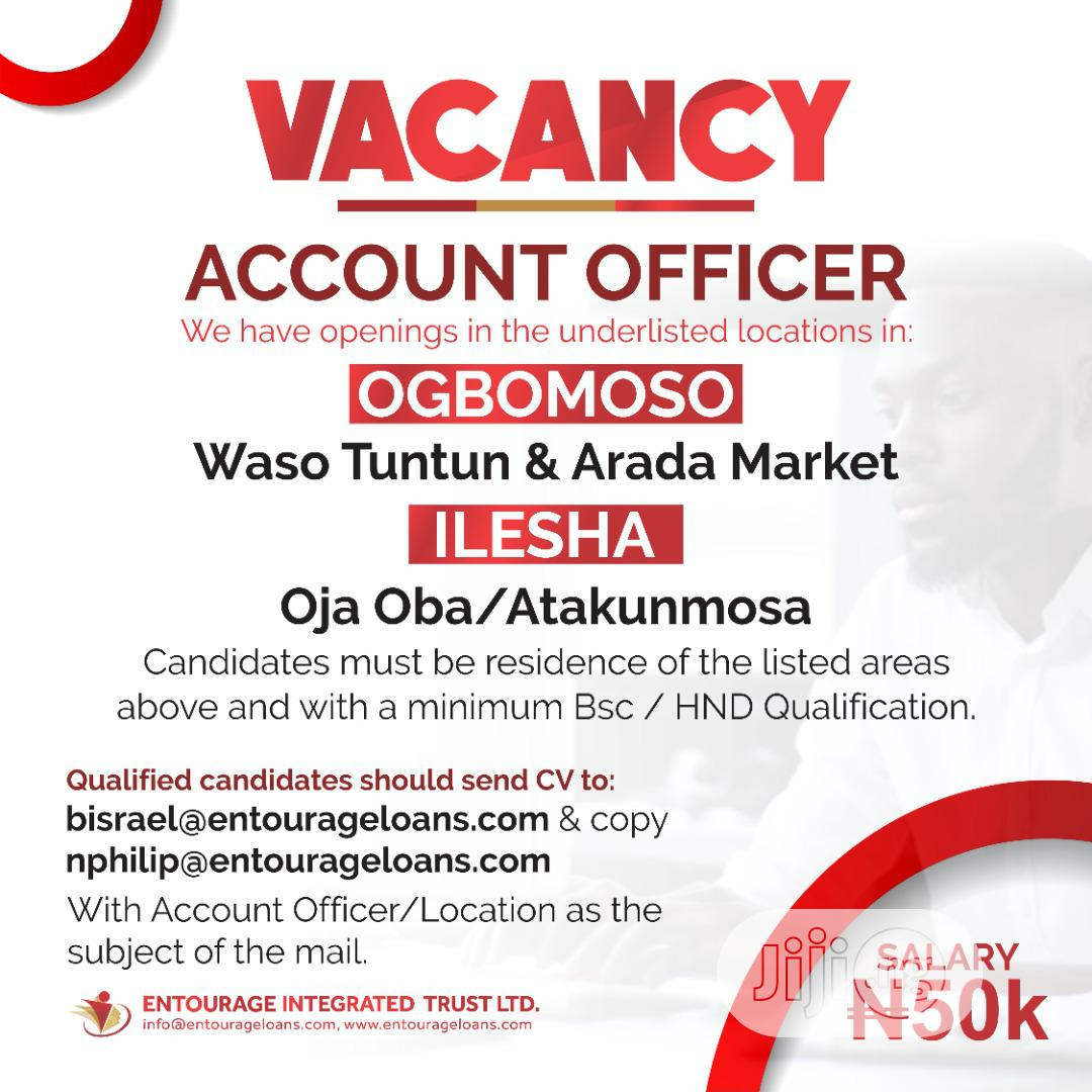 Archive: Account Officer