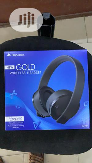 Playstation Gold Wireless Headsets | Headphones for sale in Lagos State, Ajah