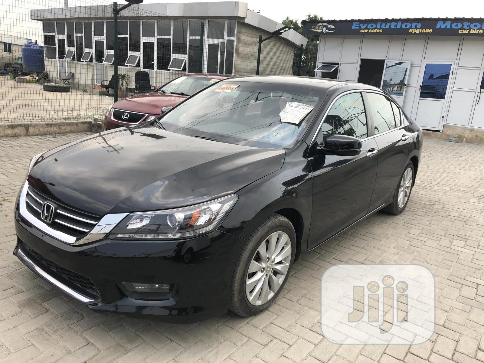 Honda Accord 2015 Black | Cars for sale in Lekki, Lagos State, Nigeria