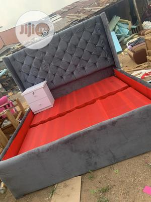 6by6 Bed Frame With Side Drawer   Furniture for sale in Lagos State, Ojo