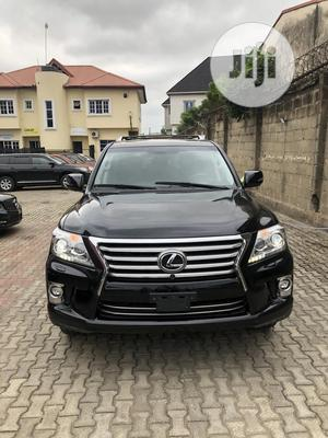 Lexus LX 2015 570 Base Black   Cars for sale in Lagos State, Magodo